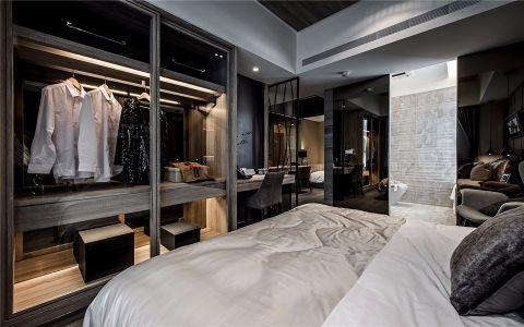 卧室衣柜现代家装设计图