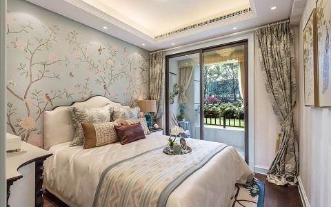 低调优雅白色卧室设计图片