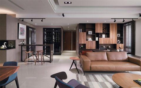 客厅白色走廊现代风格效果图