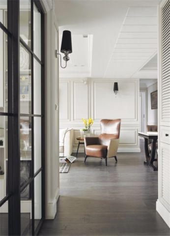 自然现代简约白色走廊装潢图片