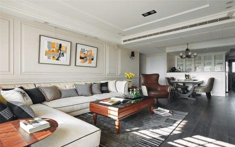 现代简约客厅背景墙家装设计