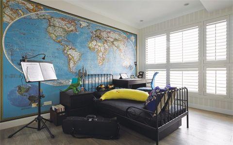 华丽儿童房现代简约设计图