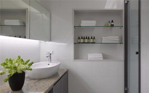 卫生间洗漱台现代设计方案