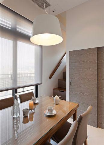 2019现代餐厅效果图 2019现代楼梯装修效果图片