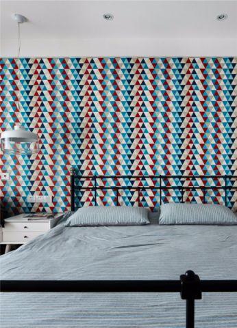 唯美彩色卧室效果图