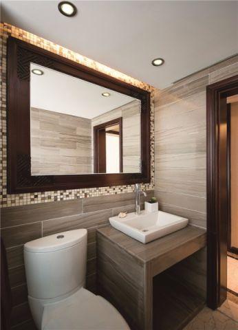 干净卫生间新古典家装设计图