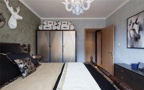 干净黑色卧室装修方案