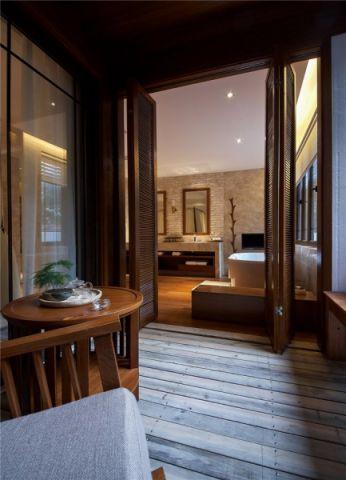 酒店东南亚风格宾馆装修效果图
