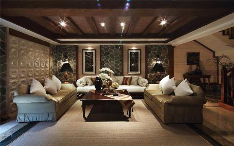 浪漫白色客厅装修效果图