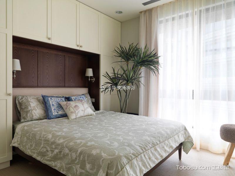 休闲白色窗帘设计方案