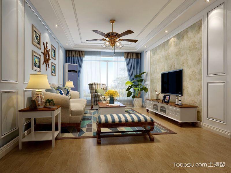 14万预算100平米三室两厅装修效果图