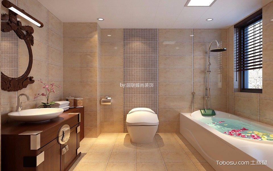 2020简中浴室设计图片 2020简中浴缸装修效果图大全