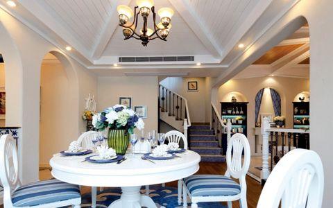 餐厅楼梯地中海风格效果图
