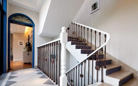 地中海玄关楼梯图片
