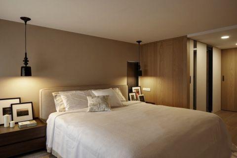 豪华白色床室内装饰