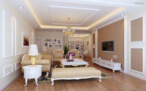 14万预算110平米三室两厅装修效果图