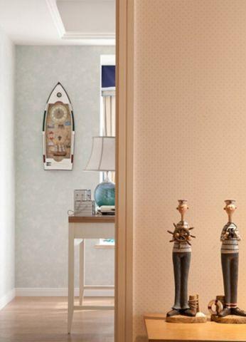 书房白色走廊现代简约风格装饰效果图