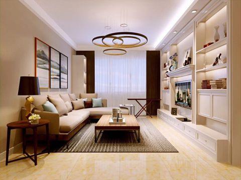 典雅米色沙发装潢设计图片