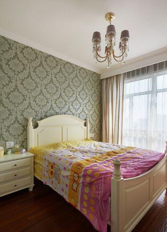 儿童房吊顶美式风格装潢效果图