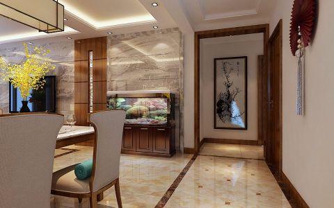 玄关门厅中式风格装饰设计图片