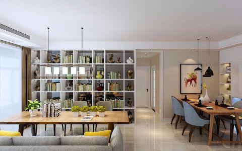 常青藤102现代简约风格二居室装修效果图