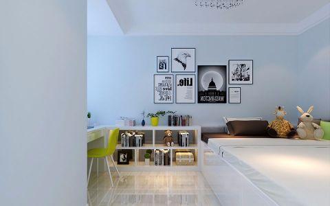 儿童房照片墙现代简约风格效果图
