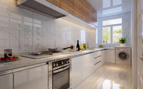 厨房窗台现代简约风格装修效果图