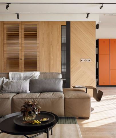 客厅走廊现代简约风格效果图