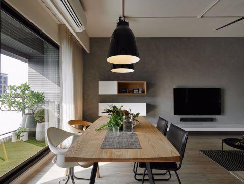 餐厅窗台现代简约风格装饰效果图