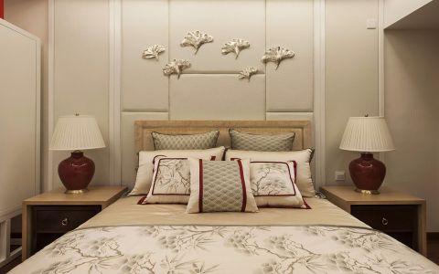 纯净混搭米色床室内装修图片