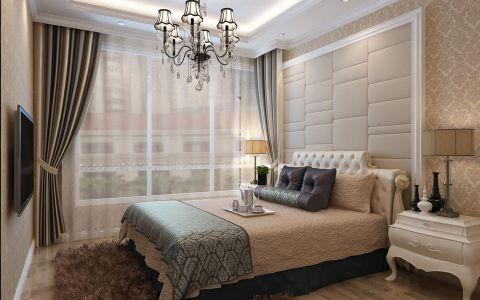 卧室吊顶现代欧式风格装饰效果图