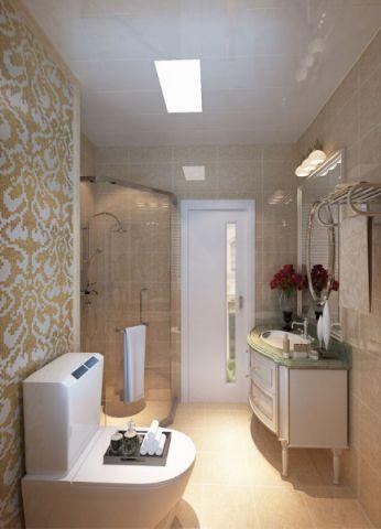 卫生间吊顶现代欧式风格装饰图片