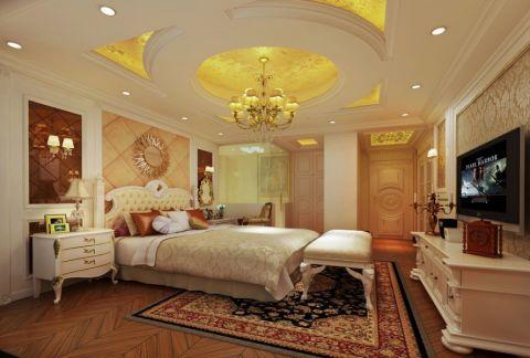卧室吊顶欧式风格装修图片