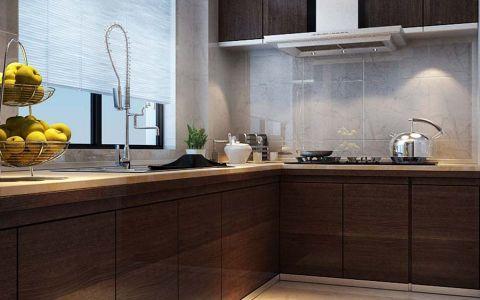 厨房窗台新中式风格装潢效果图