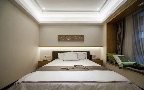 卧室照片墙中式古典风格装饰效果图