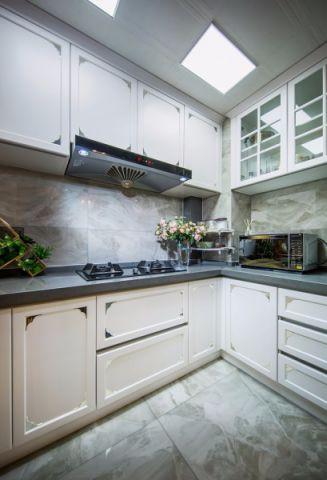 厨房吊顶法式风格效果图