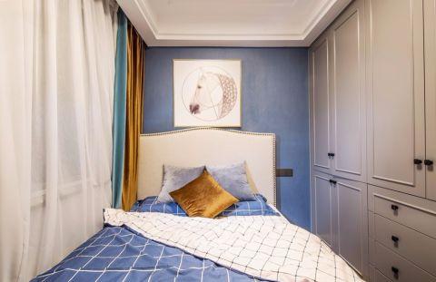 卧室照片墙法式风格装饰效果图