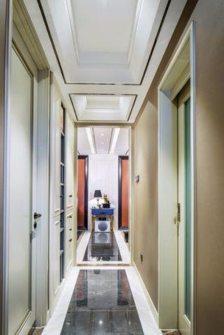 玄关走廊法式风格装修图片