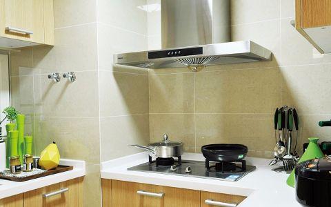厨房背景墙简约风格装修图片