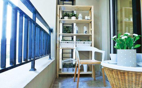 阳台隔断简约风格装饰图片