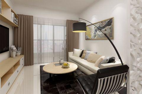 2019现代90平米效果图 2019现代三居室装修设计图片