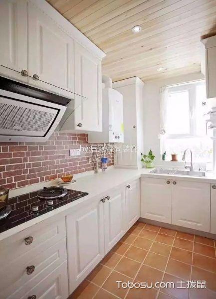 典丽矞皇白色厨房设计图欣赏