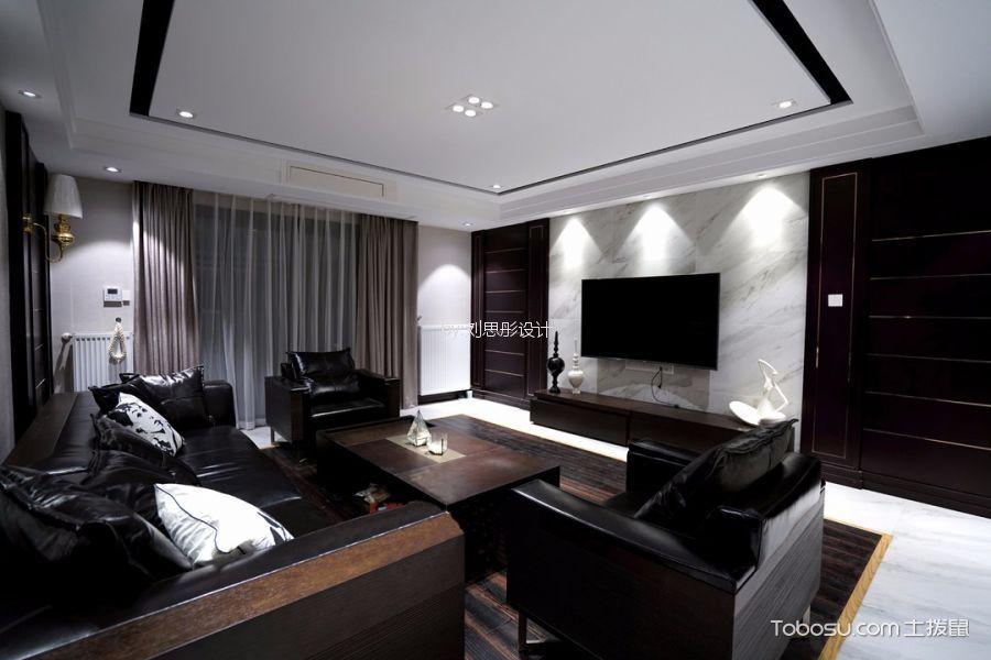台北云上现代台式风格四居室装修效果图