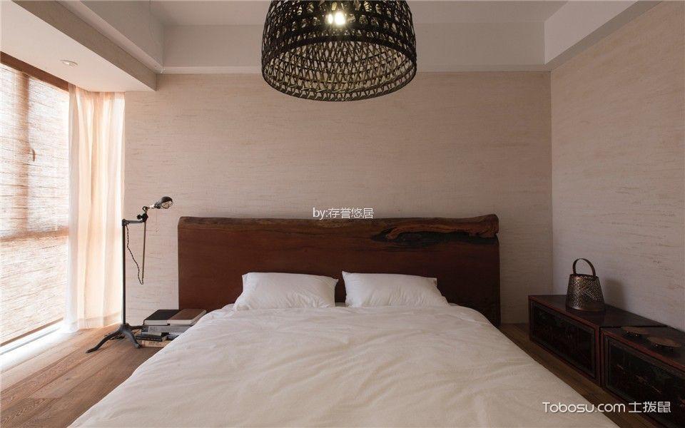 卧室白色床日式风格装饰图片