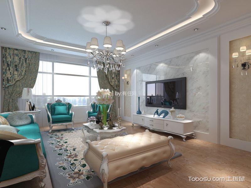 22万预算140平米三室两厅装修效果图