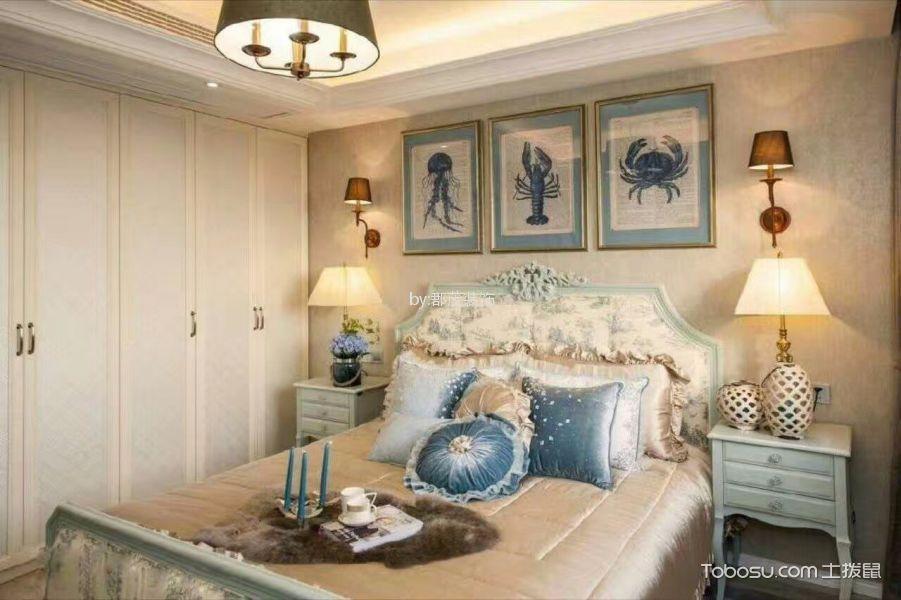 8万预算120平米三室两厅装修效果图