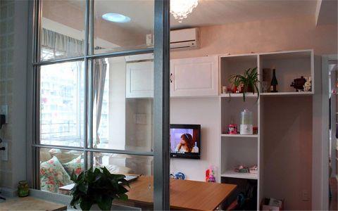 客厅推拉门现代简约风格装潢图片
