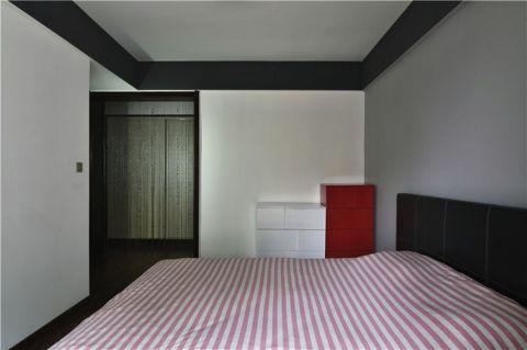 卧室白色走廊现代简约风格装饰设计图片