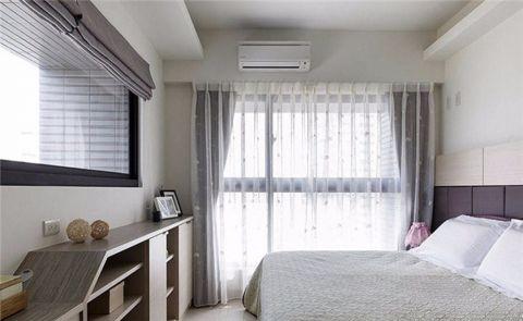 优雅白色卧室装修案例效果图