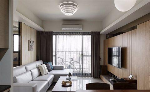 舒适客厅吊顶装修设计图片